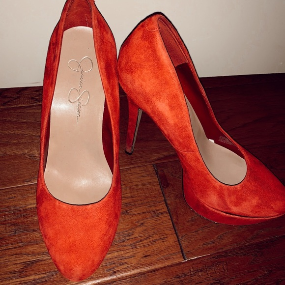 Jessica Simpson Shoes - Red Jessica Simpson heels